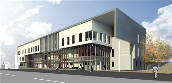Possilpark's New Health Centre - An Artist's Impression